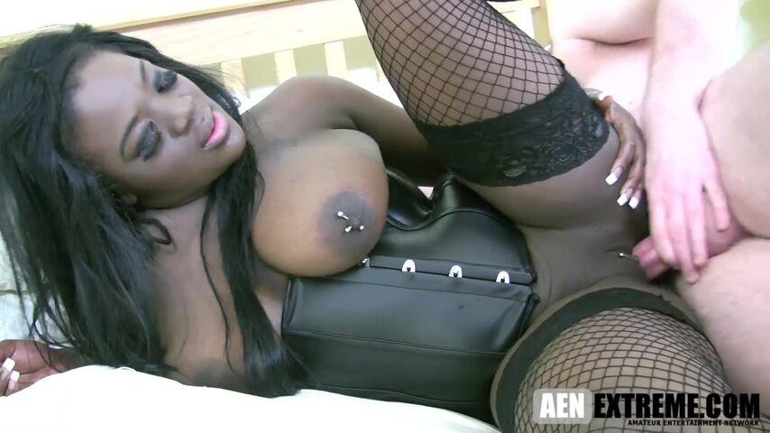 ebony pornstar Eden Adore for white cock HD